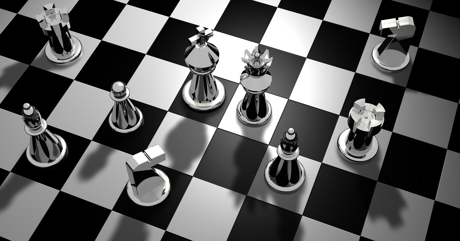 Kadar igram šah, tudi hitro shujšam…