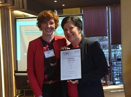 Priznanje za izjemne dosežke v podjetniški skupini BNI